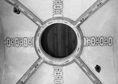 Salle du clocher de l'église de Choisel