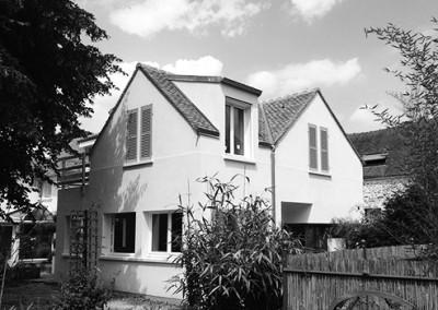 Rénovation et extension d'une maison à St Lambert-des-Bois
