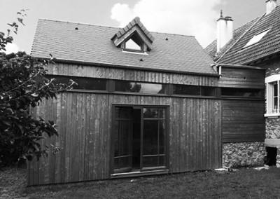 Extension d'une maison individuelle à Buc