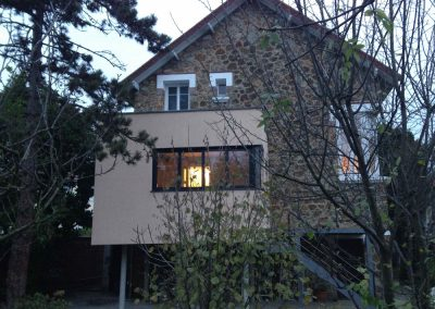 Extension d'une maison à Chelles