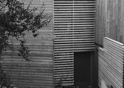 Maison bois à Guyancourt