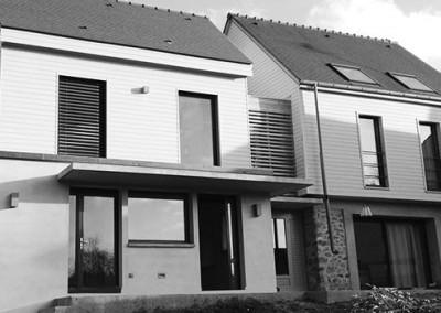 Extension d'une maison en bois à Senlisse