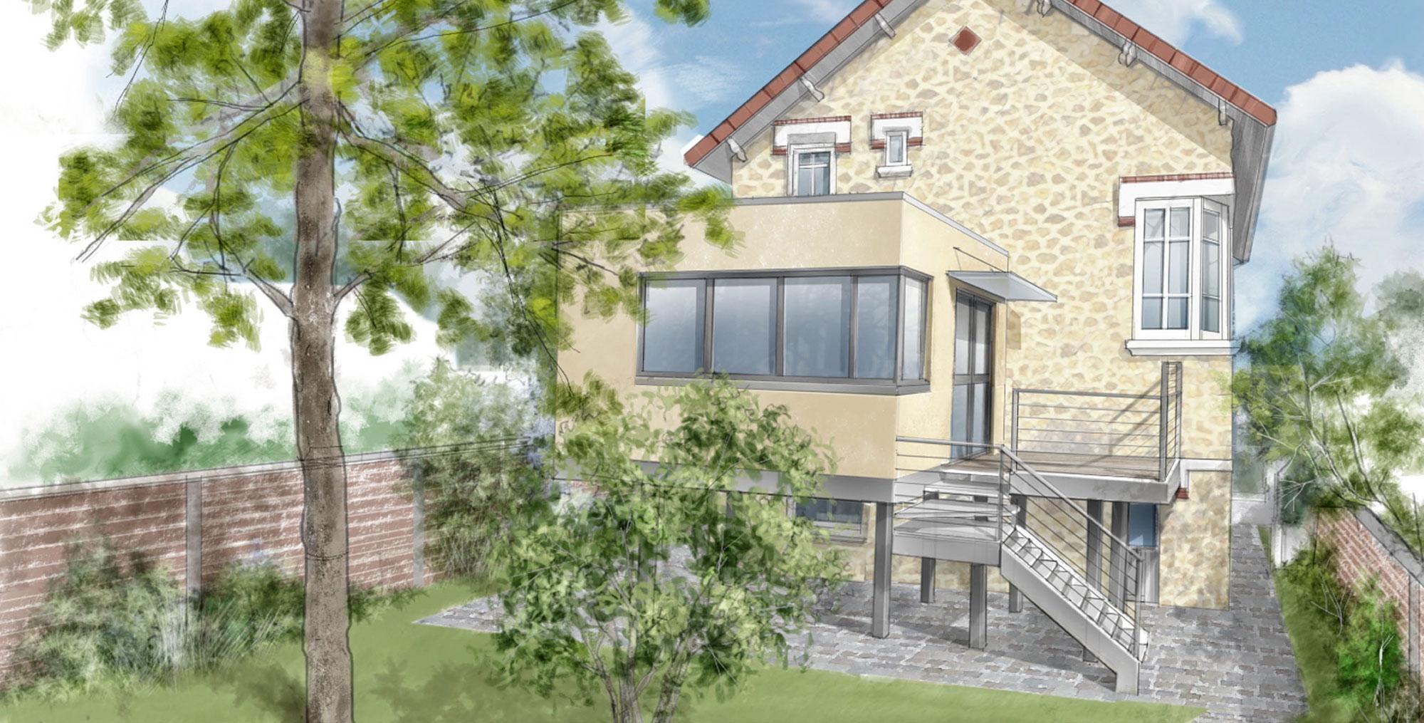 Maison Individuelle Chelles (Projet)