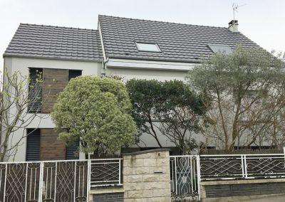 Extension d'une maison à Bourg la Reine
