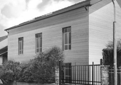 Réhabilitation d'une maison d'habitation